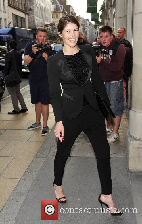 Gemma Arterton Attends Emporio Armani Summer Garden Live...