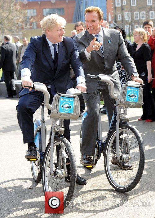 Boris Johnson and Arnold Schwarzenegger 13