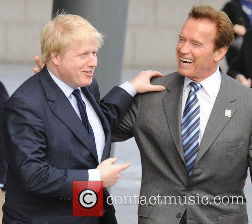 Boris Johnson and Arnold Schwarzenegger 4