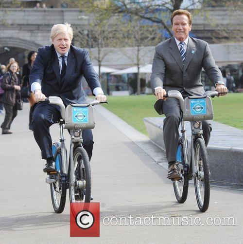 Boris Johnson and Arnold Schwarzenegger 14