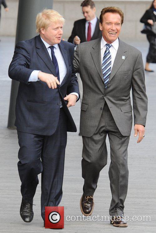 Boris Johnson and Arnold Schwarzenegger 15