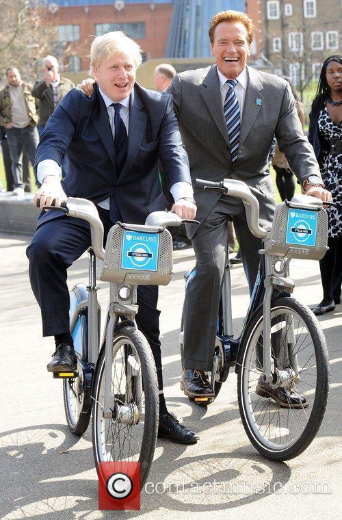 Boris Johnson and Arnold Schwarzenegger 12