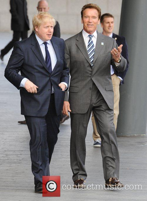 Boris Johnson and Arnold Schwarzenegger 6