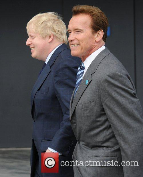 Boris Johnson and Arnold Schwarzenegger 7