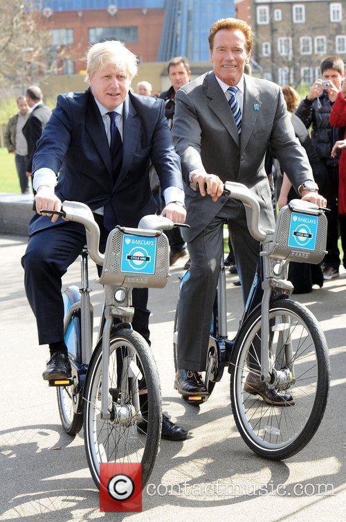 Boris Johnson and Arnold Schwarzenegger 17
