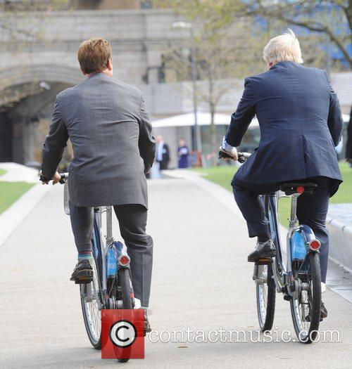 Boris Johnson and Arnold Schwarzenegger 9