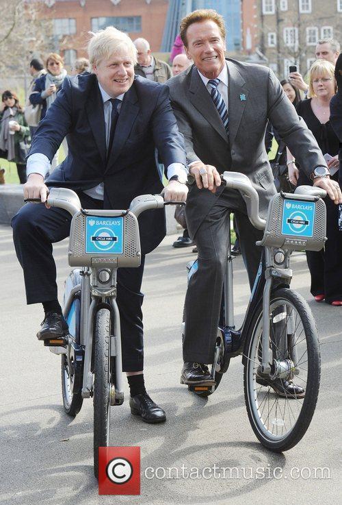 Boris Johnson and Arnold Schwarzenegger 16