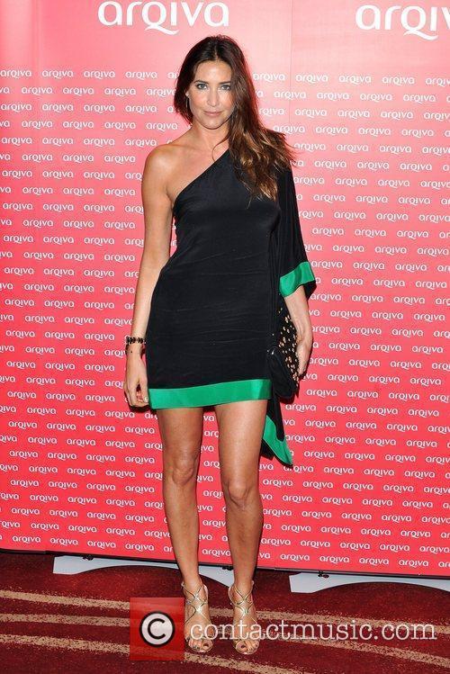 Lisa Snowdon Arqiva Commercial Radio Awards held at...