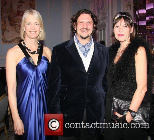 Margot James, Jay Rayner and Jay Hunt Art...