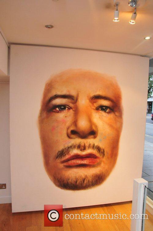 Johan Andersson's Portrait Of Muammar Gaddafi - private...