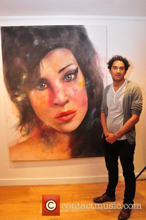 Johan Andersson's Portrait Of Amy Winehouse - private...