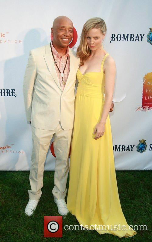 Russell Simmons and Melissa George 9