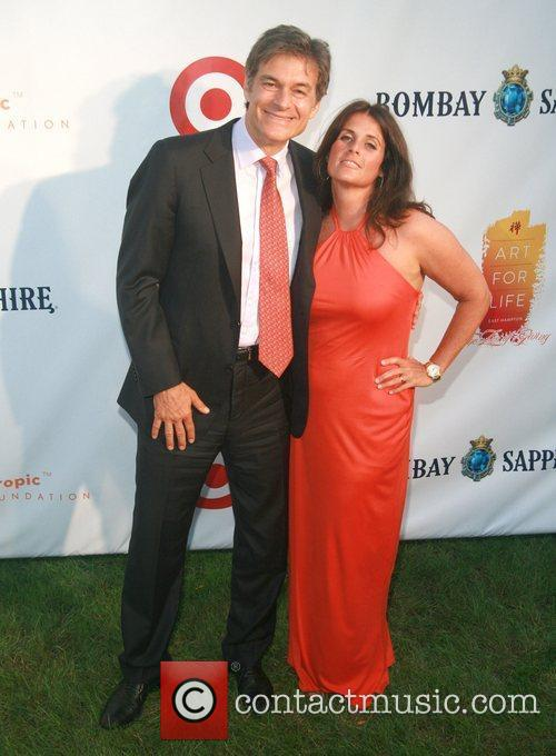 Dr. Mehmet and Lisa Oz Russell Simmons' 12th...
