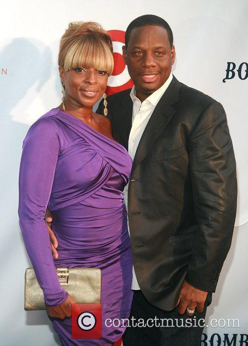 Mary J. Blige and Kendu Isaacs Russell Simmons'...