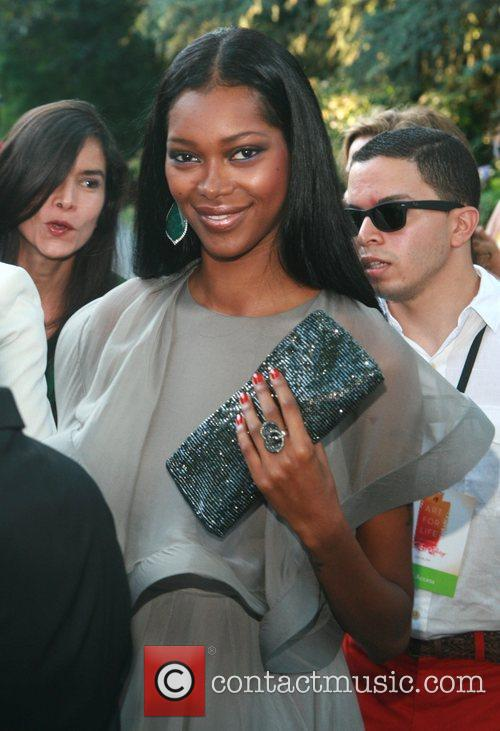Jessica White Russell Simmons' 12th Annual Art For...