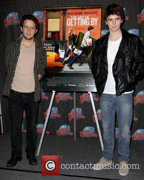 Michael Angarano and Freddie Highmore 8