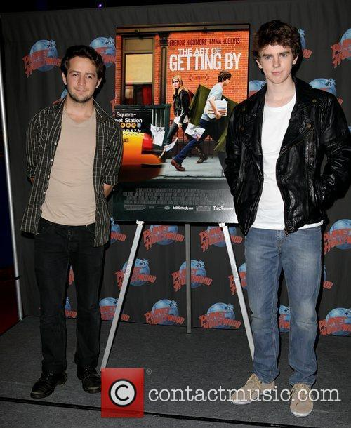 Michael Angarano and Freddie Highmore 7