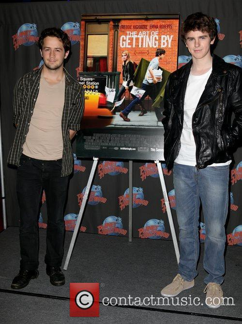 Michael Angarano and Freddie Highmore 11