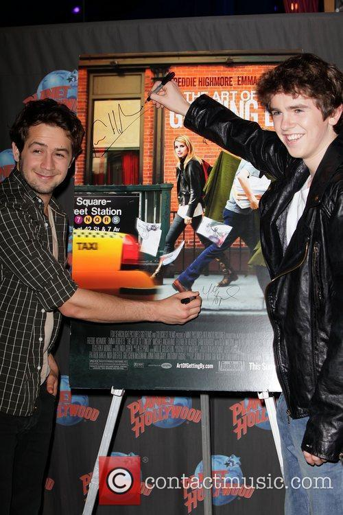 Michael Angarano and Freddie Highmore 10