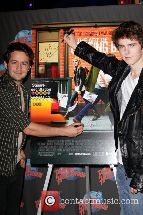 Michael Angarano and Freddie Highmore 3