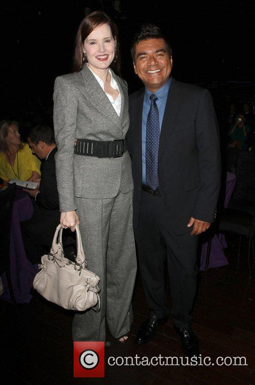 Geena Davis and George Lopez 10