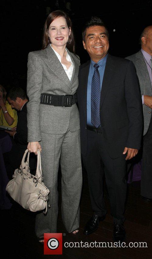 Geena Davis and George Lopez 11