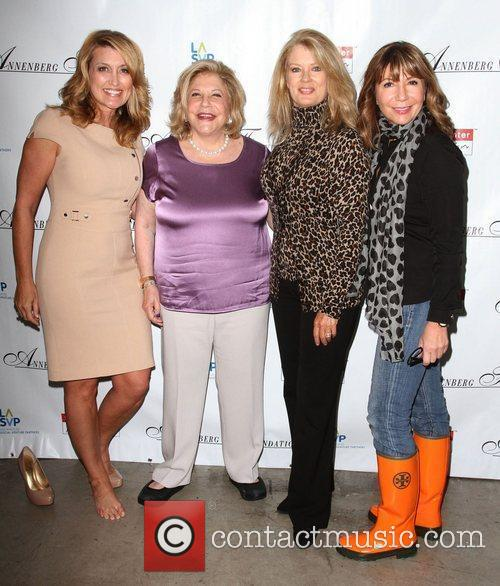 Wendy Burch, Mary Hart and Wallis Annenberg 5