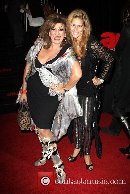 Maria Venuti and her daughter The Australian premiere...