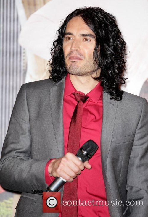 Russell Brand The Australian premiere of 'Arthur' at...
