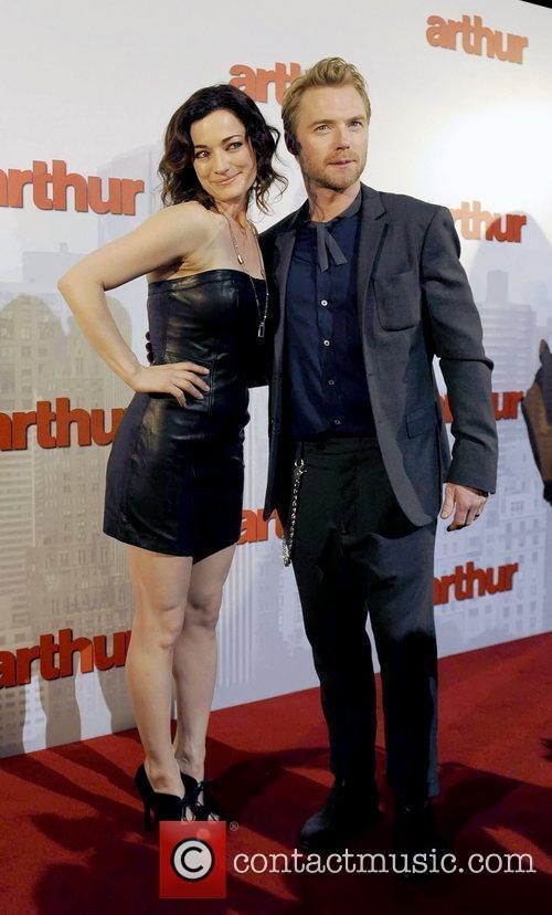 Ronan Keating The premiere of 'Arthur' held at...