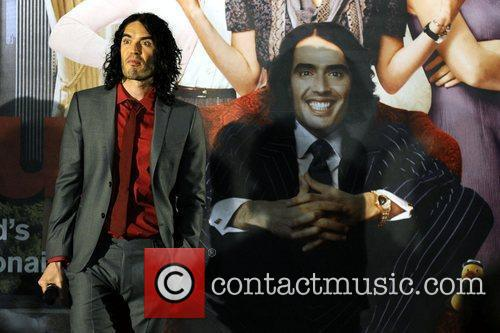 Russell Brand The premiere of 'Arthur' held at...