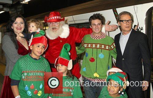 Director Sarah Smith and Bill Nighy Arthur Christmas...