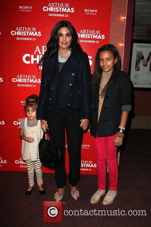 Rachel Roy and daughters Tallulah and Ava Arthur...