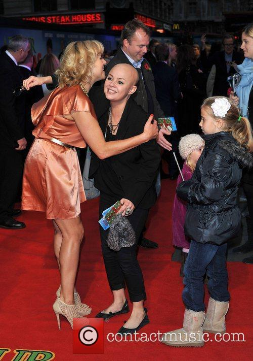 Abi Titmuss, Gail Porter and Empire Leicester Square 3