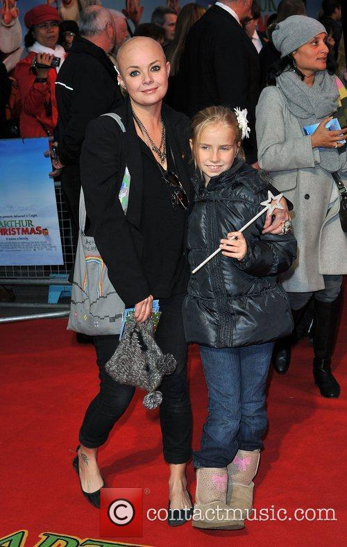 Gail Porter and Empire Leicester Square 2