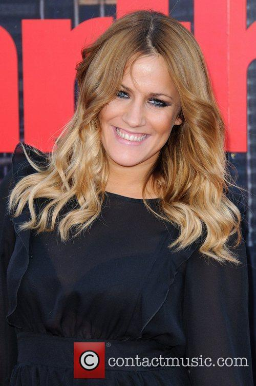 Caroline Flack Arthur - UK film premiere held...