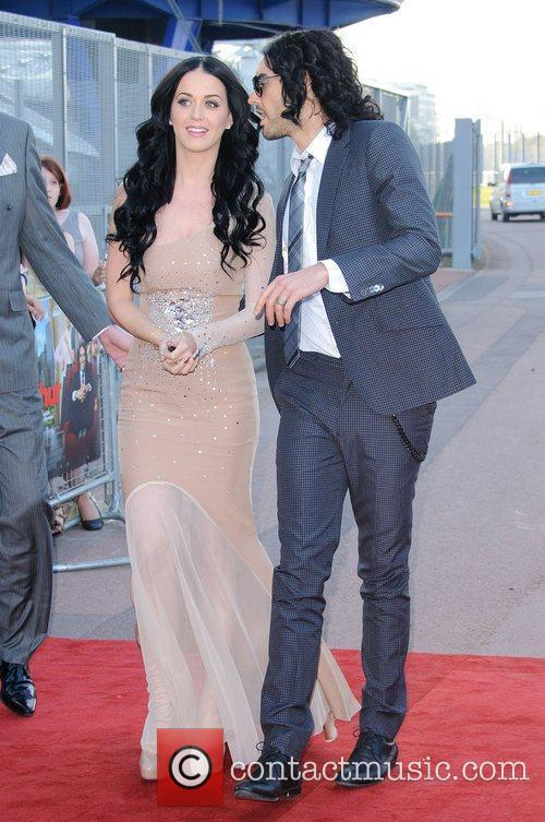 Katy Perry and Russell Brand Arthur - UK...