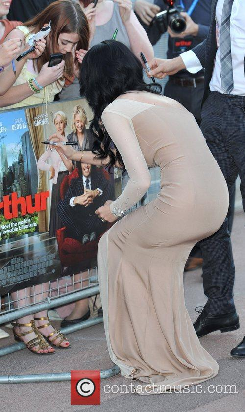 Katy Perry Arthur - UK film premiere held...