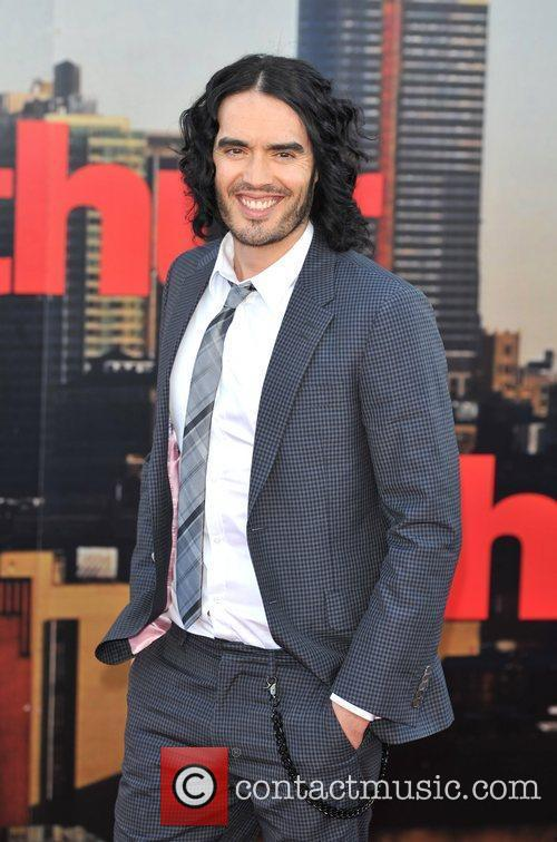 Russell Brand Arthur - UK film premiere held...