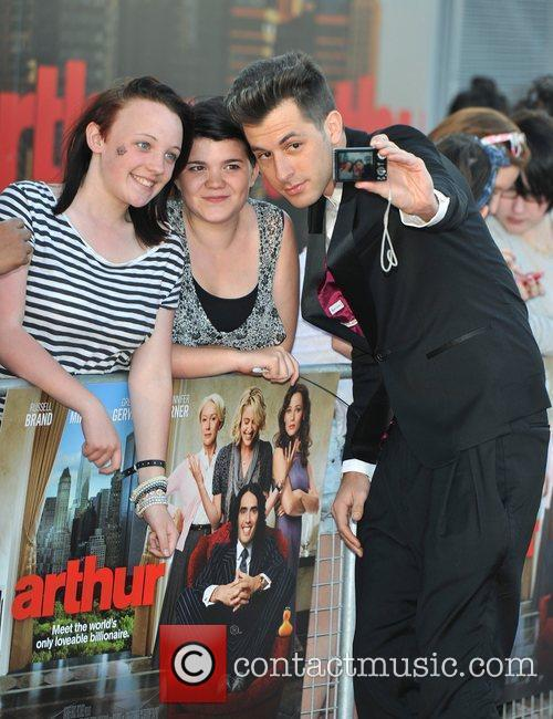 Mark Ronson Arthur - UK film premiere held...