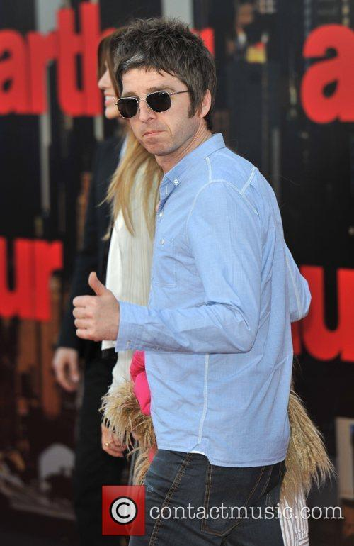 Noel Gallagher Arthur - UK film premiere held...
