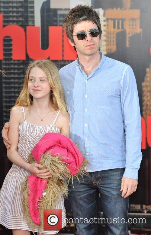 Noel Gallagher and Anais Gallagher Arthur - UK...
