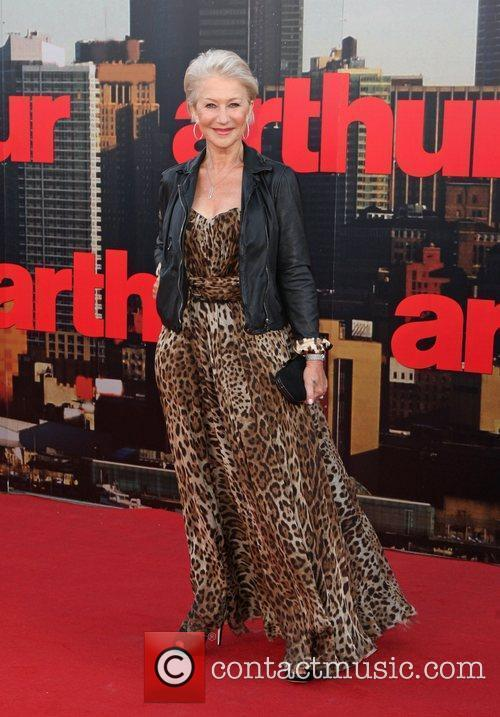 Helen Mirren UK premiere of 'Arthur' held at...