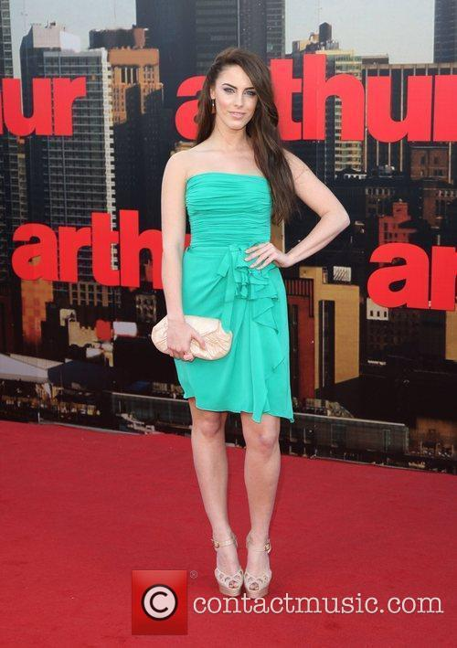 Jessica Lowndes UK premiere of 'Arthur' held at...
