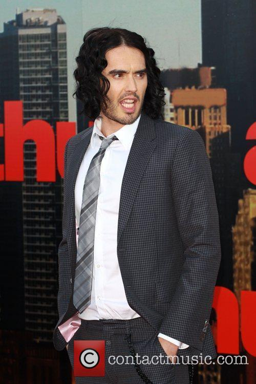 Russell Brand UK premiere of 'Arthur' held at...