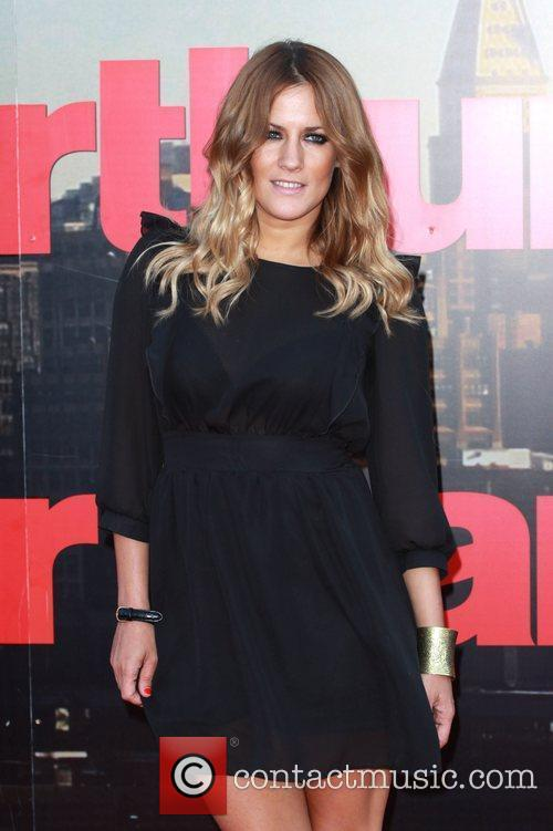 Caroline Flack UK film premiere of 'Arthur' held...