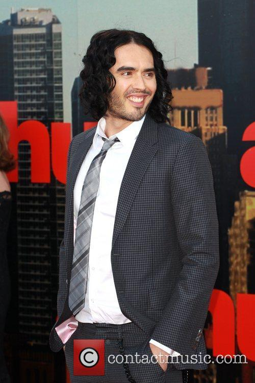 Russell Brand UK film premiere of 'Arthur' held...