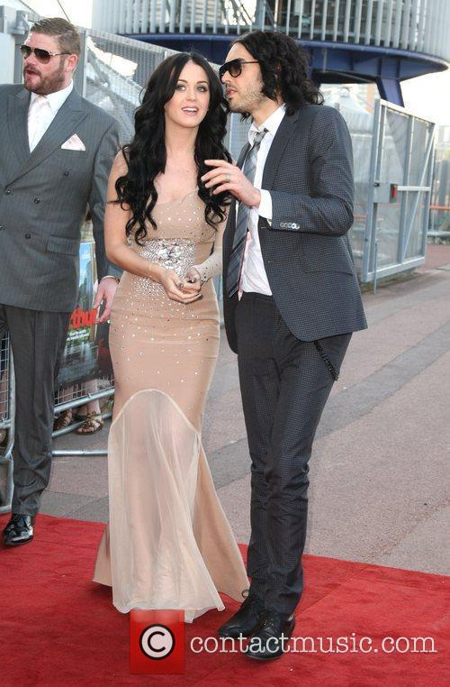 Russell Brand and Katy Perry UK film premiere...