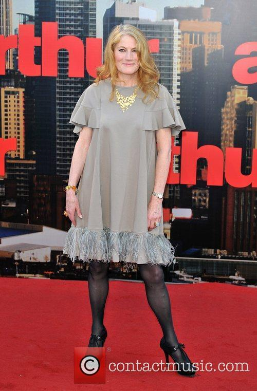Geraldine James Arthur - UK film premiere held...