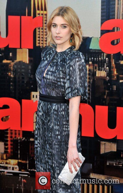 Greta Gerwig Arthur - UK film premiere held...